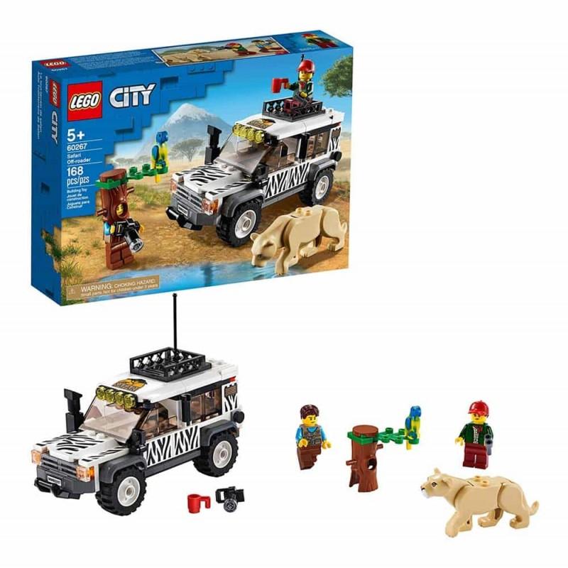 LEGO® City Mașina de teren pentru safari 60267 - 168 piese