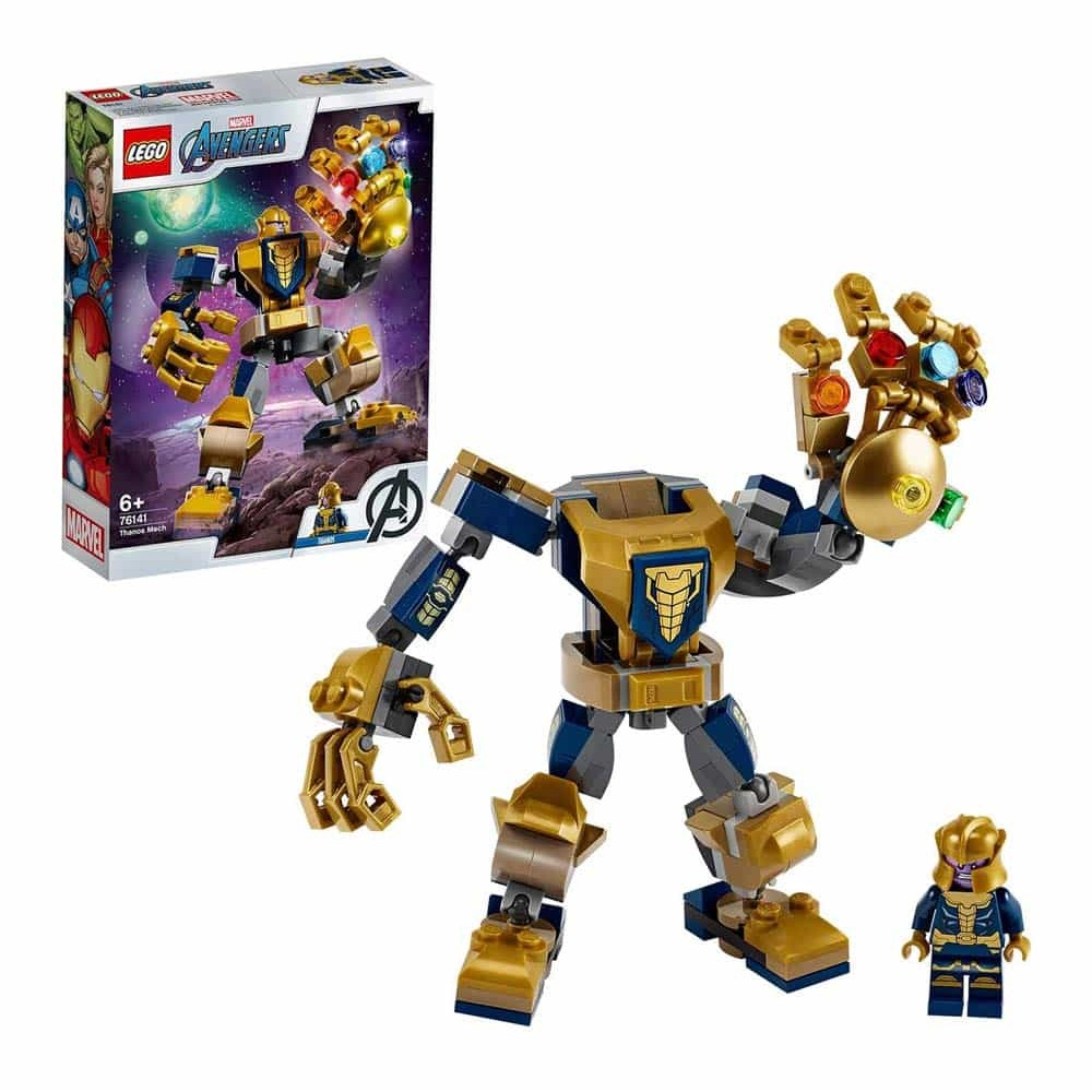 LEGO® Avengers Super Heroes Robot Thanos 76141 - 152 piese
