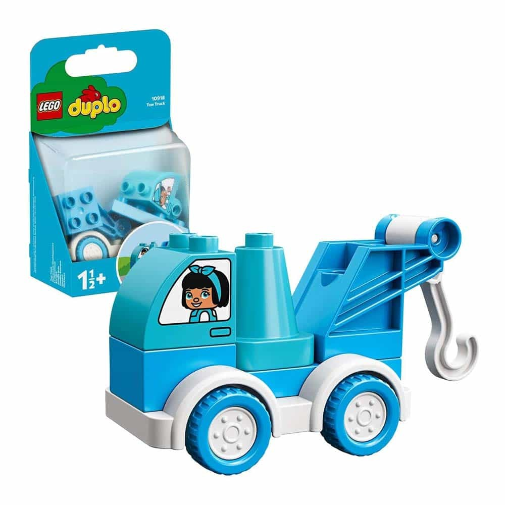 LEGO® DUPLO Camion cu remorcă 10918 - 7 piese