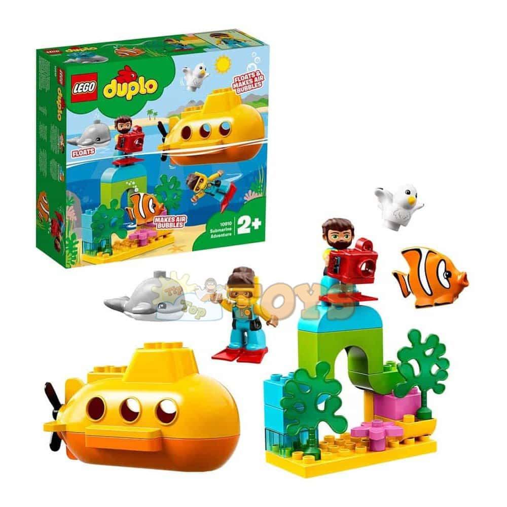 LEGO® DUPLO Town - Aventura cu submarinul 10910 - 24 piese