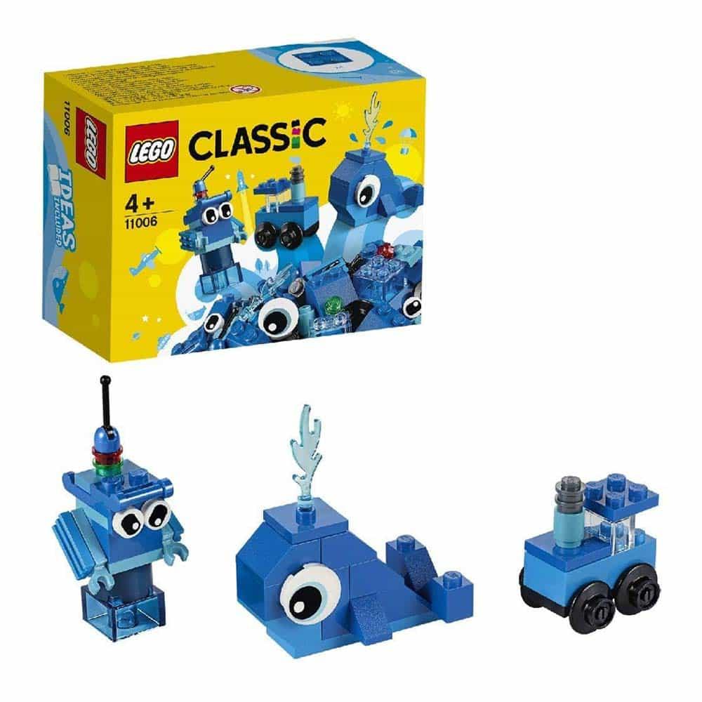 LEGO® Classic Cărămizi creative albastre 11006 - 52 piese