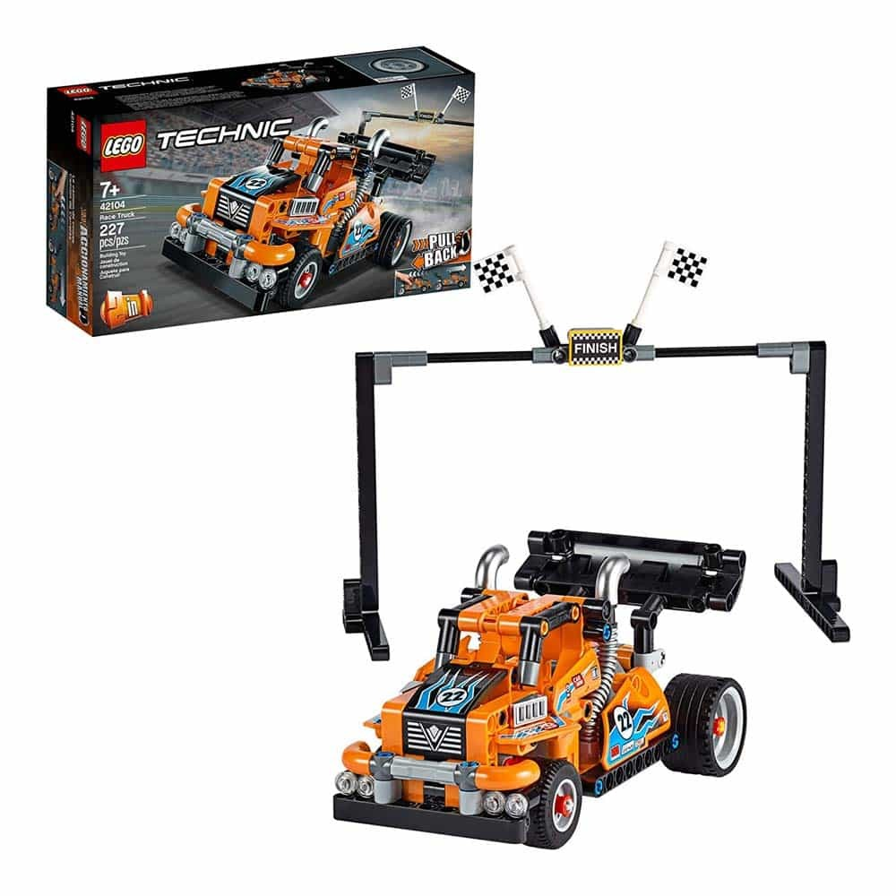 LEGO® Technic Camion de curse 42104 - 227 piese