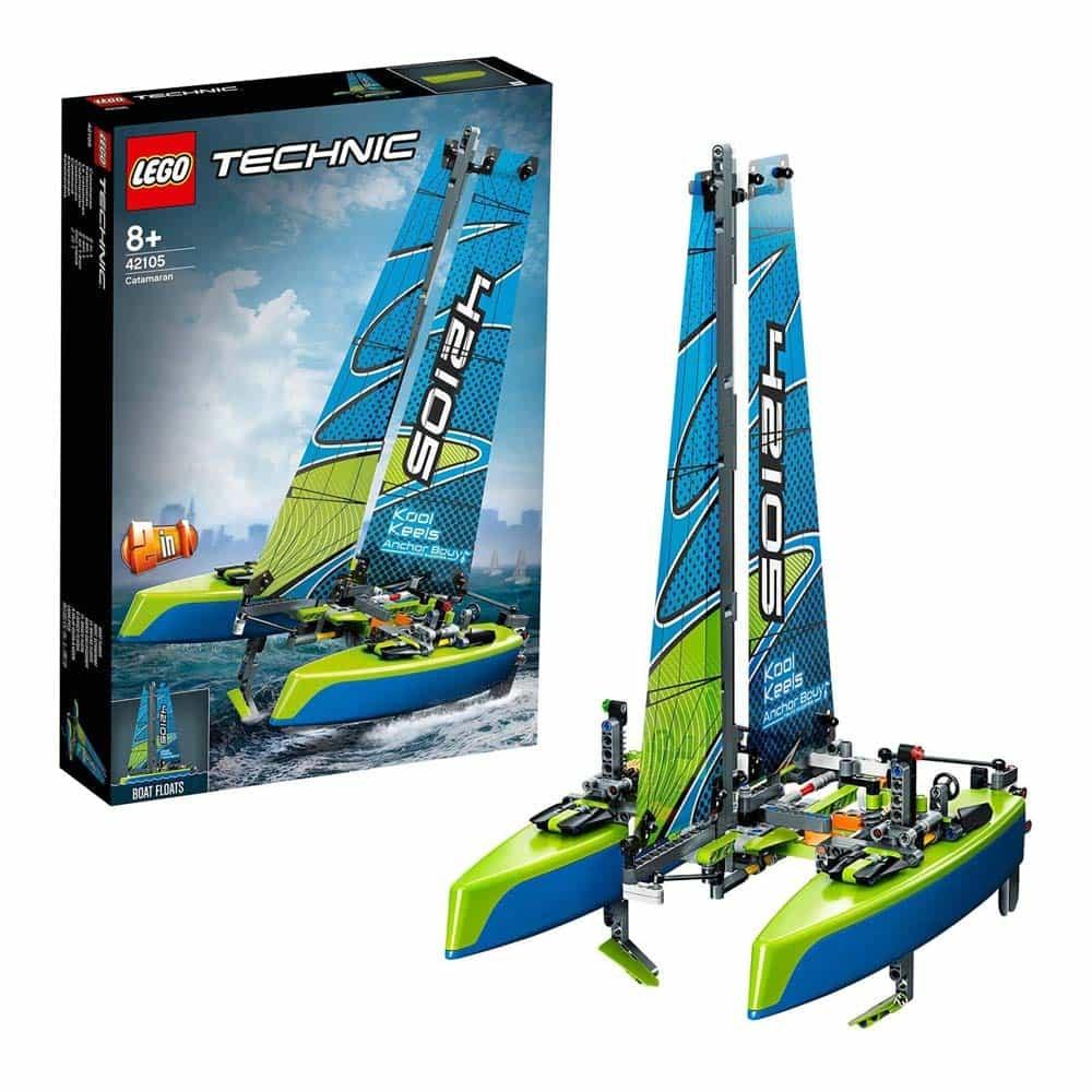 LEGO® Technic Catamaran 42105 - 404 piese
