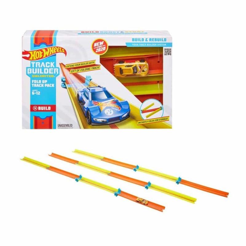 Hot Wheels Set de joacă Fold Up Track Pack GLC91 Piese piste pliabile