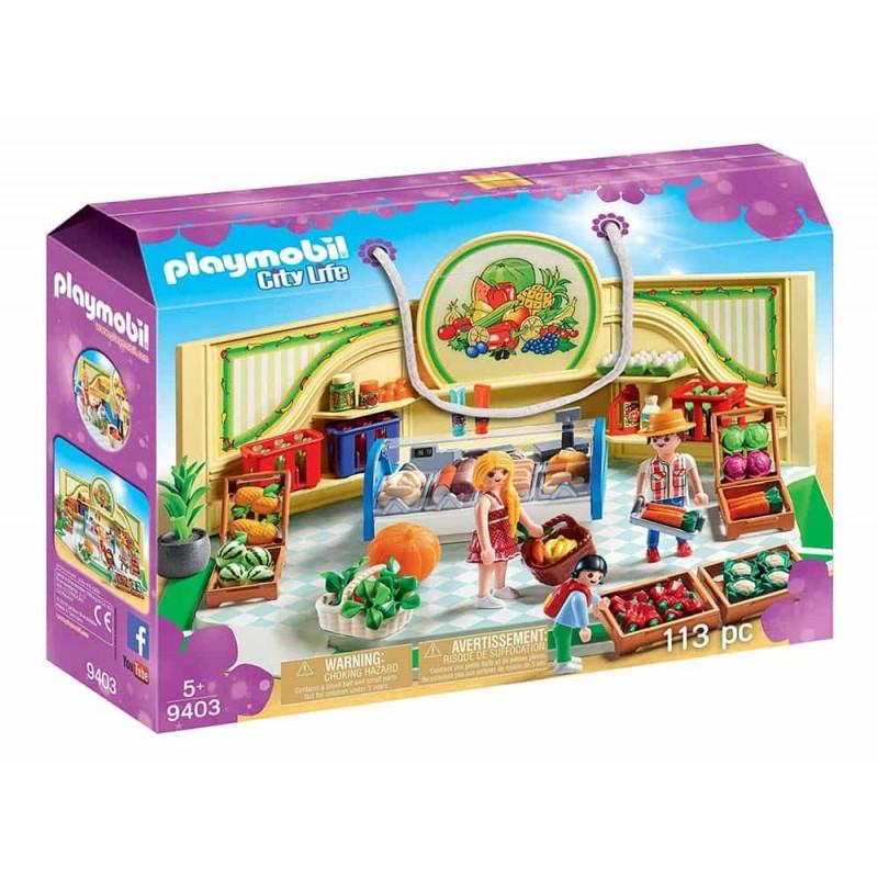 Playmobil City Life Magazin produse alimentare 9403 - 113 piese