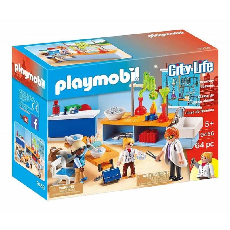 Playmobil City Life Sala de chimie 9456 - 64 piese