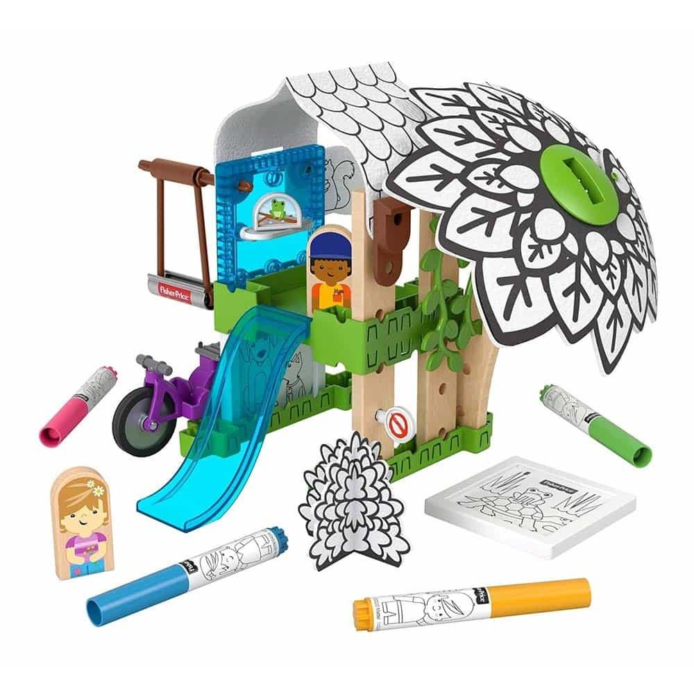 Fisher-Price Wonder Makers Set de joacă Căsuța din copac GLY25
