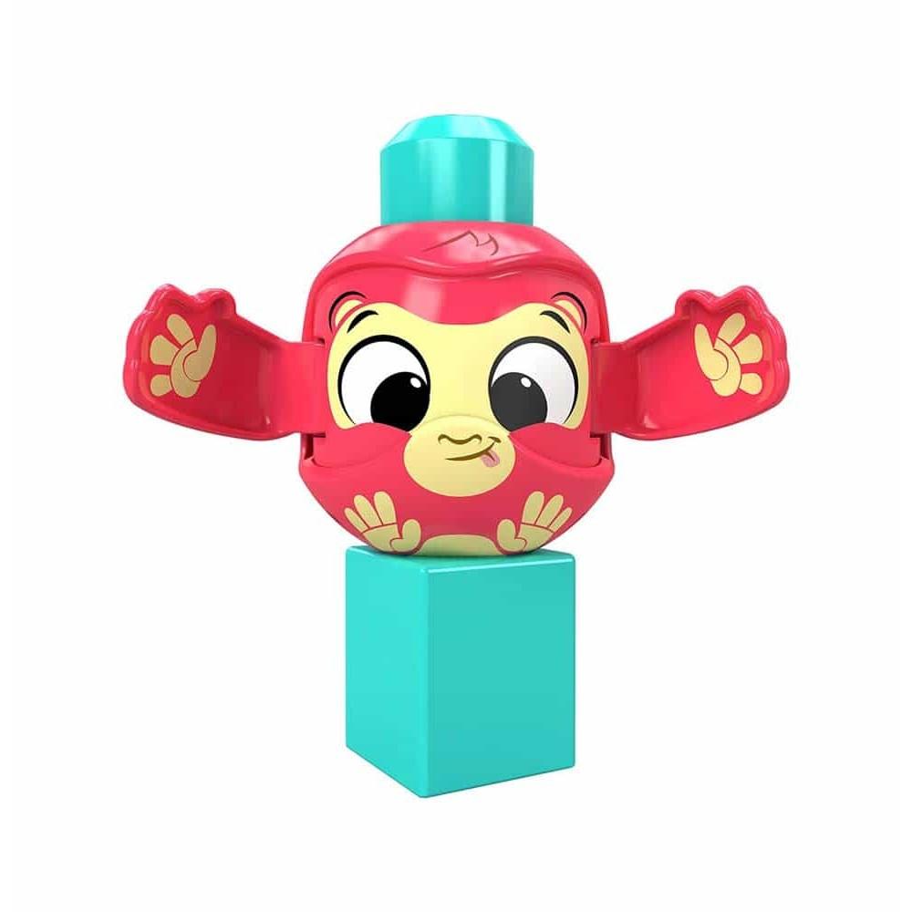 Mega Bloks Cuburi construcții Peek a Blocks Maimuță GKX51
