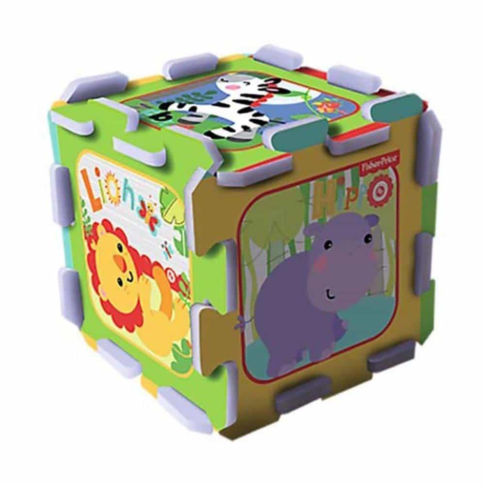 Fisher-Price Puzzle burete pentru bebe 60399 Trefl Foam Puzzle