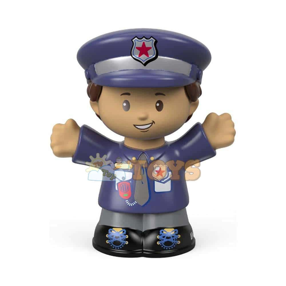 Fisher-Price Figurină Little People polițist FGX54 Landon Junior 6cm