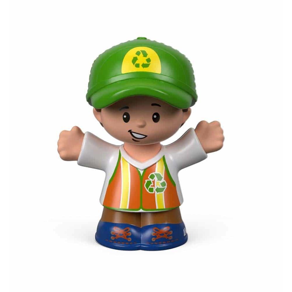 Fisher-Price Figurină Little People omul de reciclare FYY19 6cm