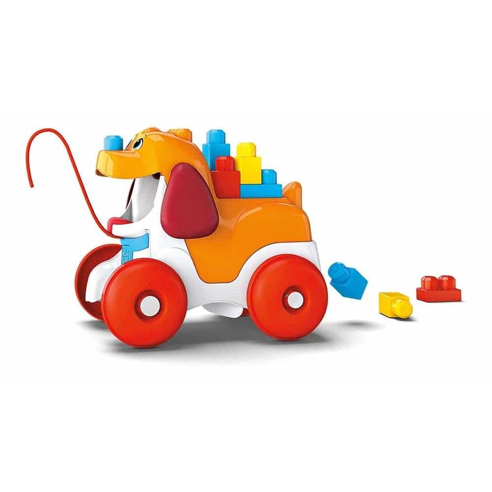 Mega Bloks Set cuburi de construcții Cățeluș Poppy cu cuburi GNW63