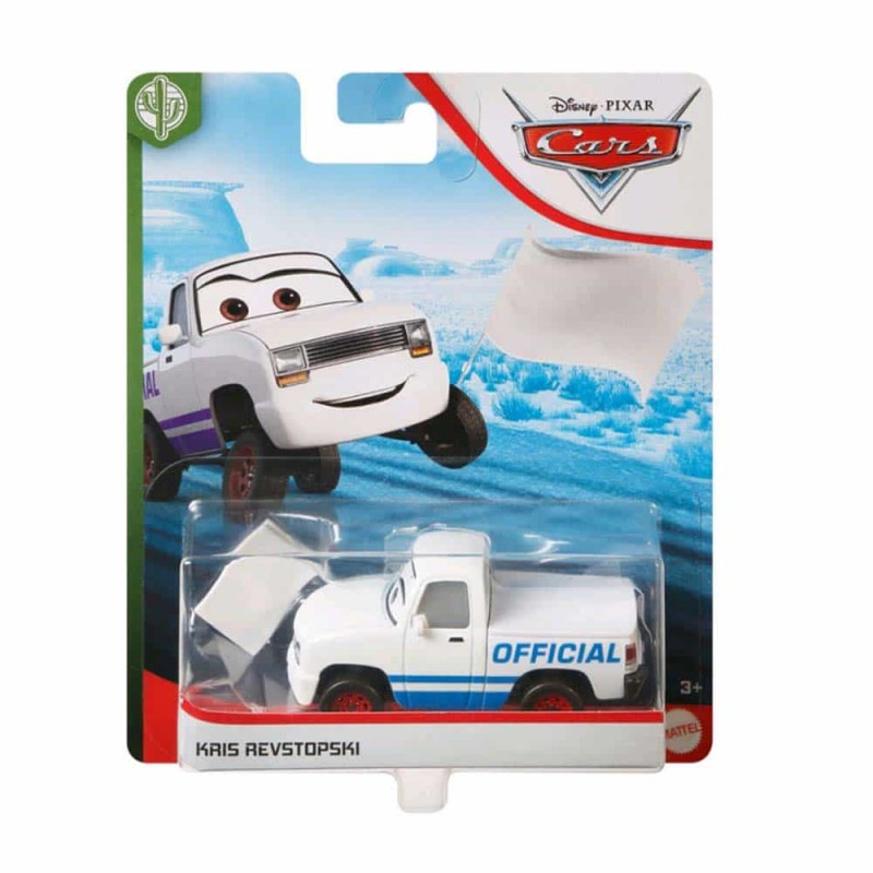 Cars 3 Mașinuță metalică Cars  Kris Revstopski GBK04 Disney Mattel