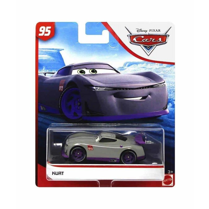 Cars 3 Mașinuță metalică Cars Kurt GJN79 Disney Mattel