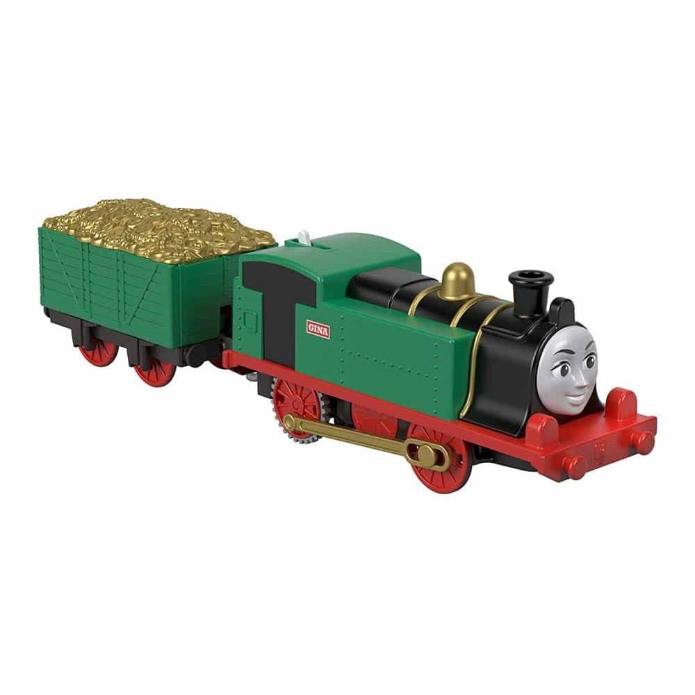 Thomas și prietenii Locomotivă motorizată Gina cu vagon GJX80 Mattel