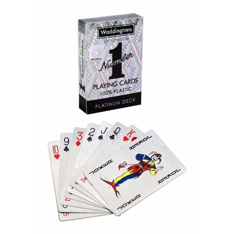 Waddingtons Cărți de joc Platinum Deck - cărți de joc poker 35521