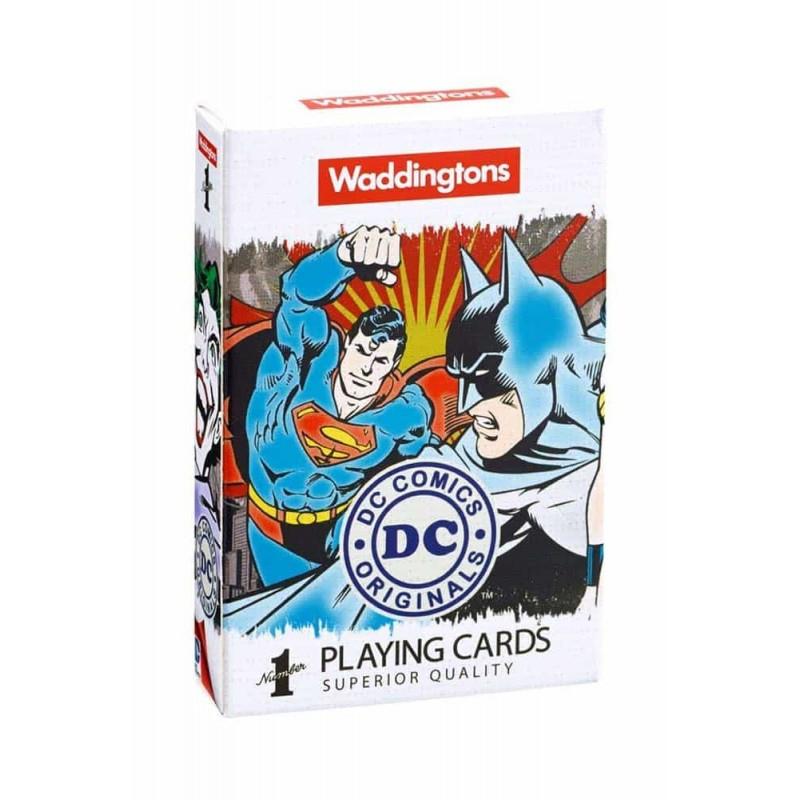 Waddingtons Cărți de joc DC Comics cărți de joc poker 22446 Number 1