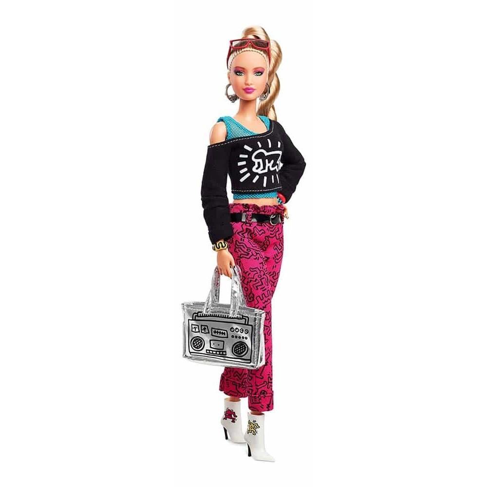 Păpușă Barbie Keith Haring Barbie Signature FXD87 Mattel