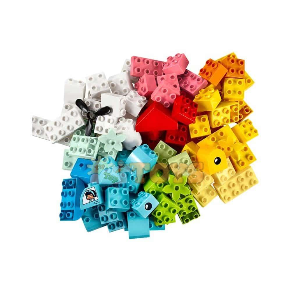 LEGO® DUPLO Cutie pentru creații distractive 10909 - 80 piese