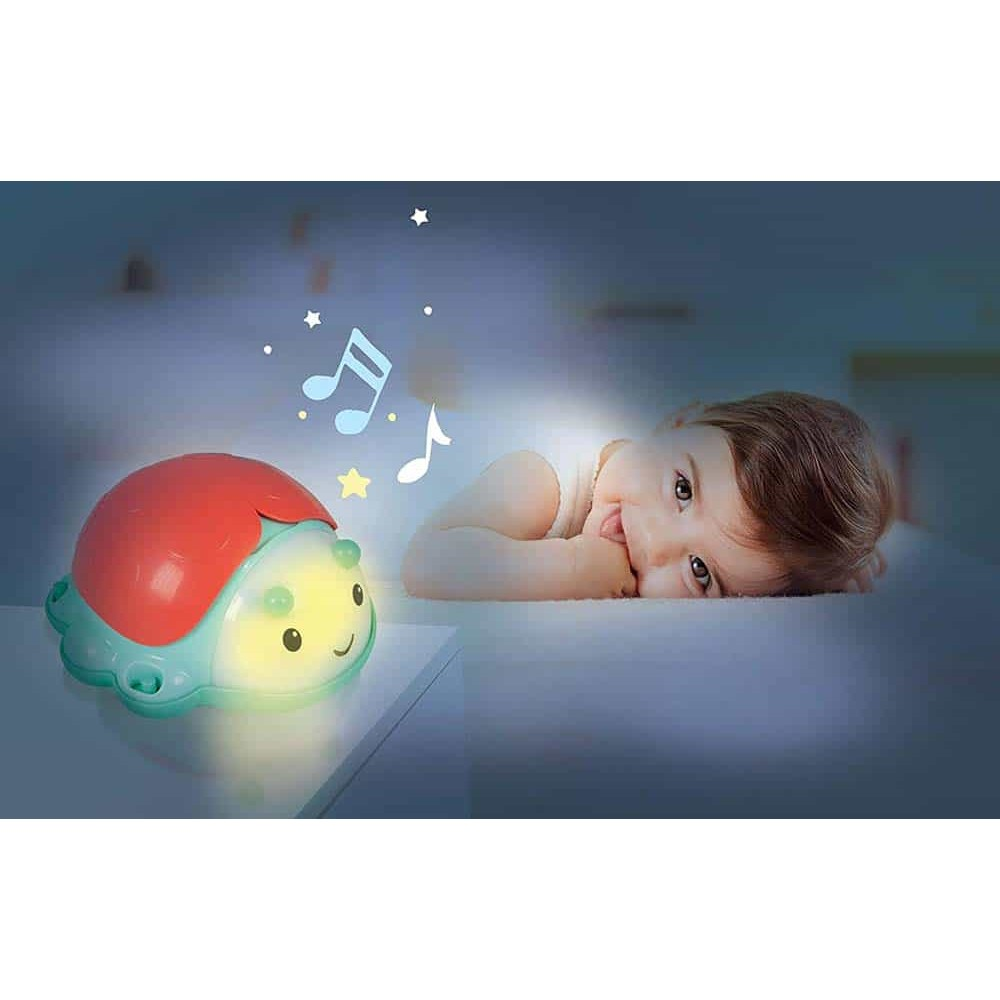 Clementoni Baby Proiector muzical Buburuză cu sunete și lumini 17265