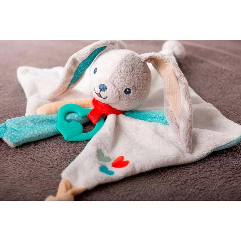 Clementoni Baby Păturică bebe Primul meu iepuraș Bavețică 17272