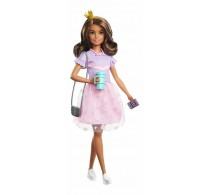 Păpușă Barbie Princess Adventure Prințesa Teresa pink mov GML69
