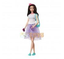 Păpușă Barbie Princess Adventure Prințesa Renee mov GML71