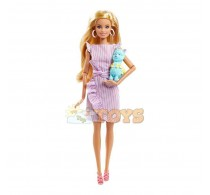 Păpușă Barbie Signature Tiny Wishes Prima mea Barbie 2020 GNC35