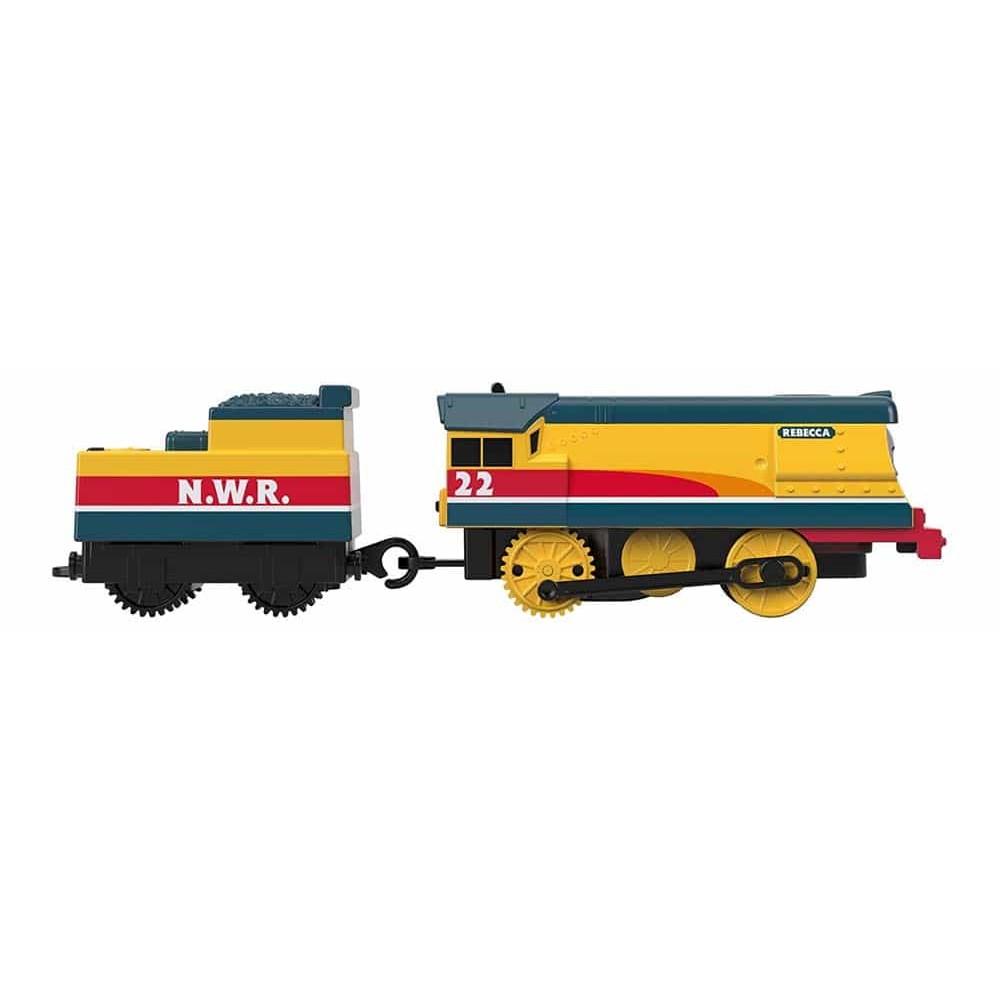 Thomas și prietenii Locomotivă motorizată Rebecca cu vagon GDV30