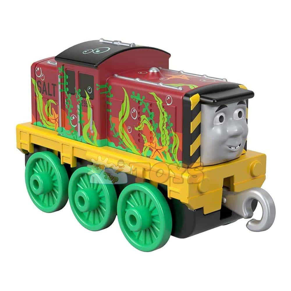 Locomotivă Thomas și prietenii Seaweed Salty Trenuleț din metal GHK62