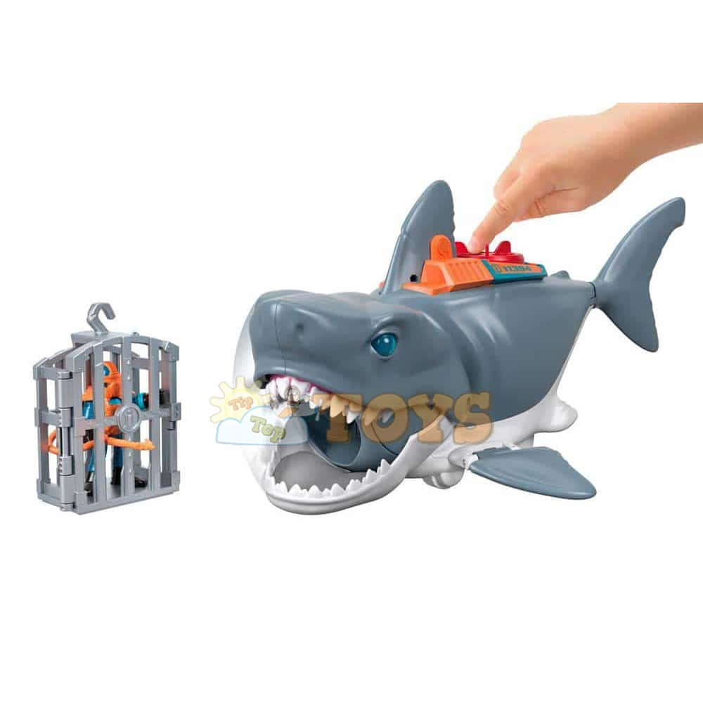imaginext Rechinul uriaș figurină uriașă Fisher-Price GKG77 Mattel