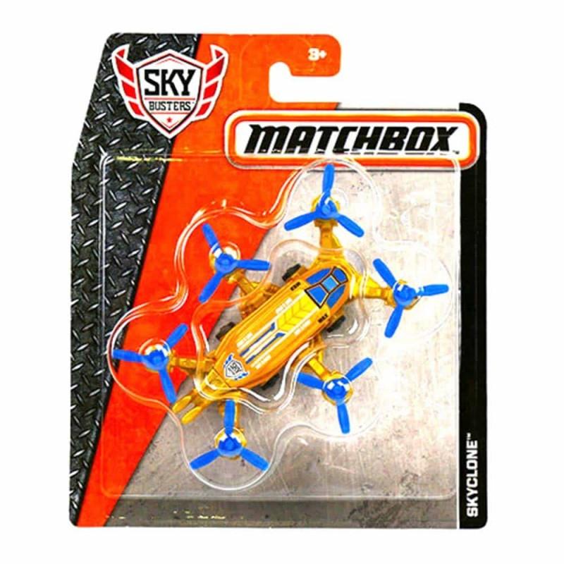 MATCHBOX Avion metalic Skyclone DKG80 Mattel