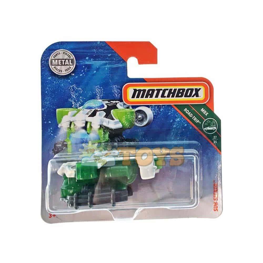 MATCHBOX Submarin metalic Road-Trip Sub Seeker FHK29 Mattel