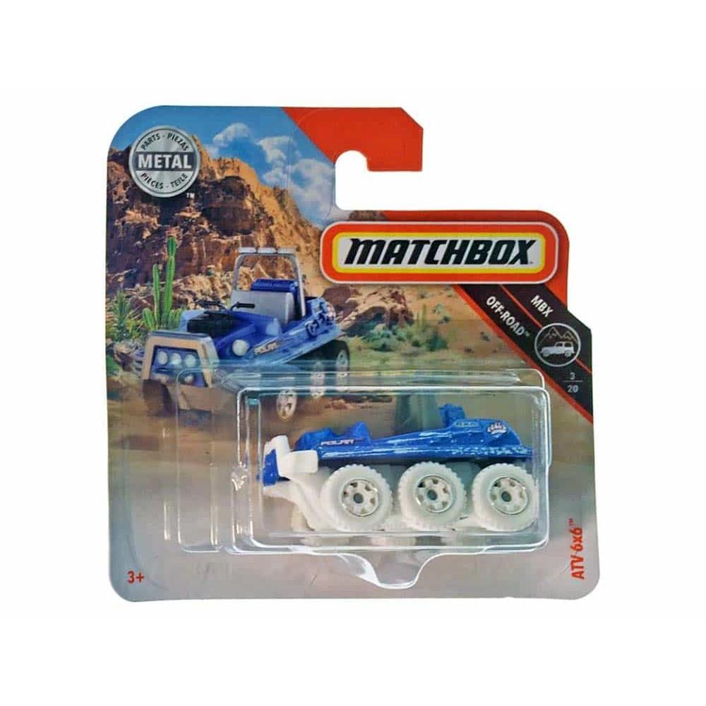MATCHBOX Mașinuță metalică Off-Road ATV 6x6 FHK65 Mattel