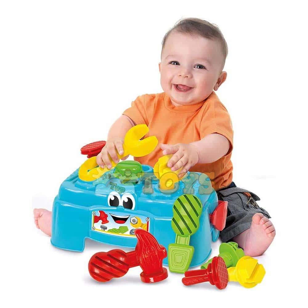 Clementoni Baby Centru de activitate cu unelte 17042 Banc de lucru