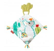Fisher-Price Jucărie dentiție cu păturică Cuddle Cactus GJD38 Mattel