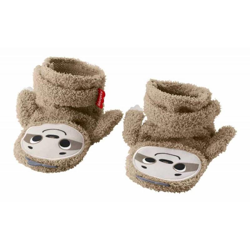 Fisher-price Șosete bebe cucu-bau cu design Leneș GNF16 Mattel