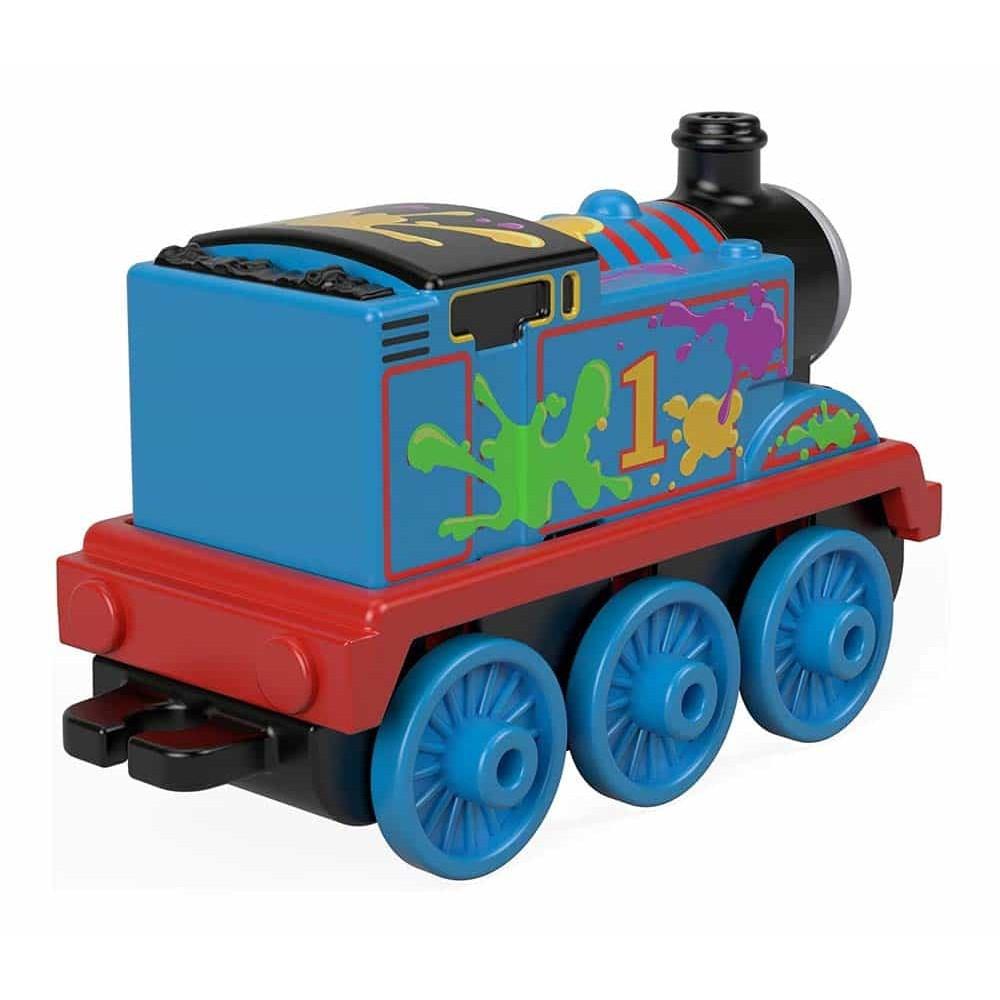 Locomotivă Thomas și prietenii Track Master Thomas Paint Splat GHK64