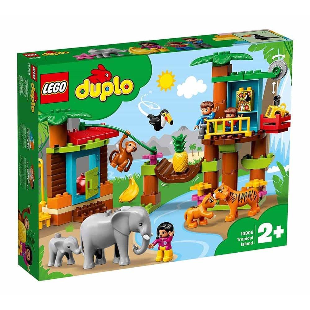 LEGO® DUPLO Insulă tropicală 10906 - 73 piese