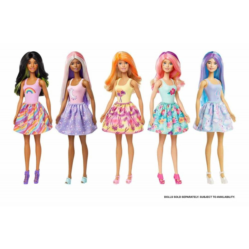 Set de joacă Barbie Ultimate Color Reveal Petrecerea în pijamale GRK14