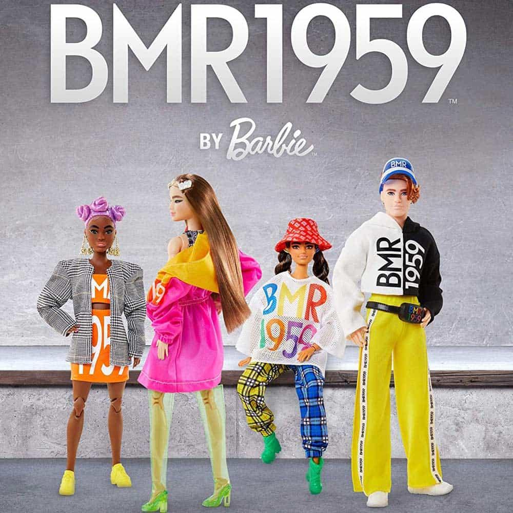 Păpușă Barbie Signature BMR1959 de colecție păr pink latină GNC46