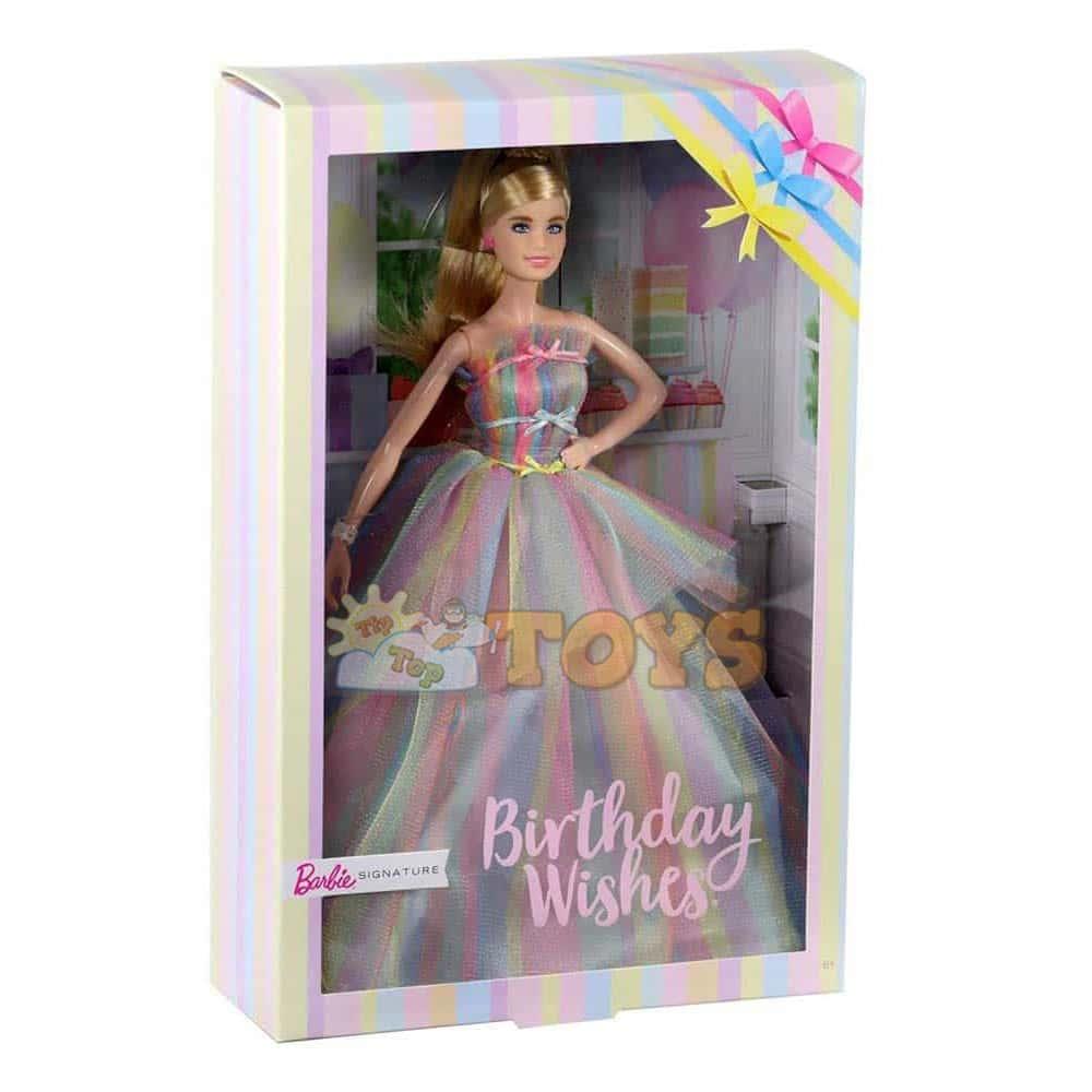 Păpușă Barbie Signature Birthday Wishes GHT42 La mulți ani Mattel