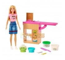Set de joacă Barbie Paste de casă You can be Noodle maker GHK43