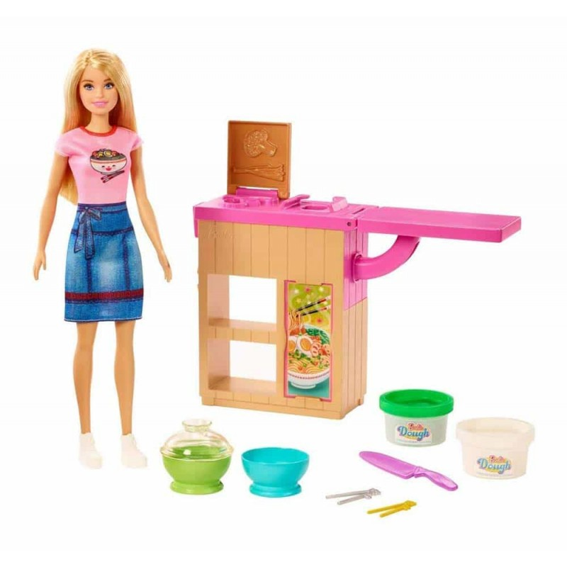 Set de joacă Barbie Paste de casă You can be Noodle maker GHK43