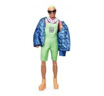 Păpușă Barbie Signature BMR1959 Ken cu păr verde colecție GHT96