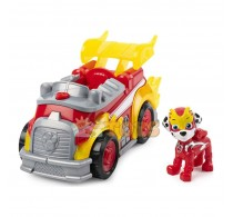 PAW Patrol Set figurină cu vehicul Patrula Cățelușilor Mighty Pups Marshall
