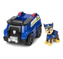 PAW Patrol Set figurină cu vehicul Patrula Cățelușilor Chase Patrol Cruiser