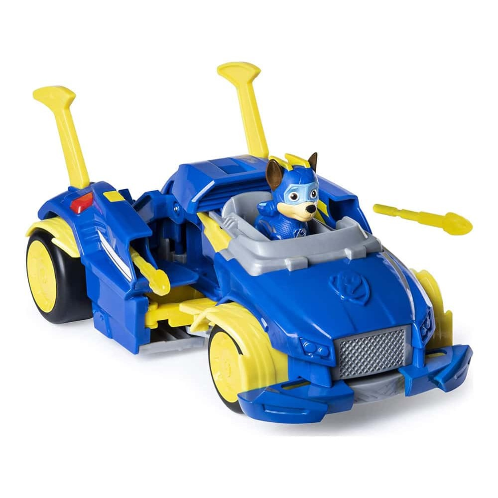 PAW Patrol Set de joacă Mașină de poliție Powered Up Cruiser Chase