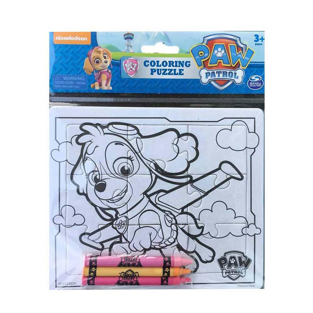 PAW Patrol Puzzle pentru colorat Patrula Cățelușilor Skye 6033420