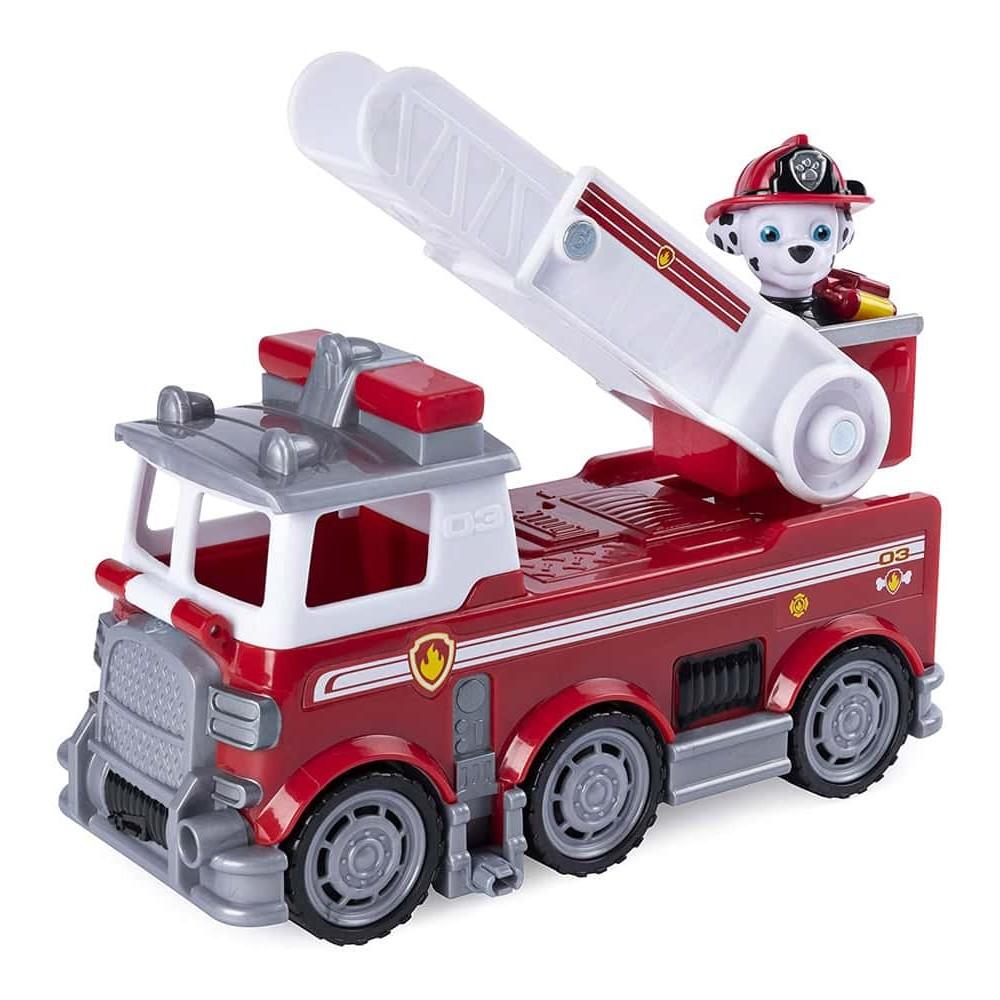 PAW Patrol Set figurină cu vehicul Patrula Cățelușilor Marshall Ultimate